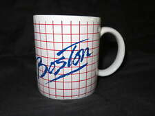 NEW Ceramic BOSTON Coffee MUG Cocoa Tea Drink Vintage Cup Hub Massachusetts