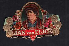 Lytho  médaillon Cigare Label  BN10652 Jan Van Eijck