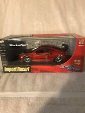 """Toyota Celica DieCast Model Car Import Racer 1:18 Scale """"Show Glow"""" (RED) VHTF!"""