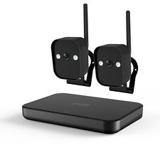 Zmodo 4CH NVR Funk Sicherheitssystem 2 720p WLAN Außen Überwachungskameras 500GB