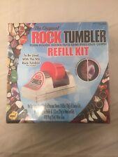 New Rock Tumbler Refill Kit -The Original - Precious Stones, grit, polish & Glue