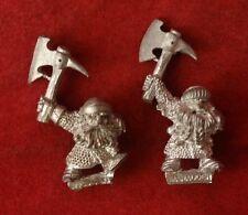 Warhammer Fantasy Marauder Dwarves x2 Metal OOP F