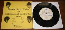 """THE BEATLES CHRISTMAS RECORD 1963 FIRST FAN CLUB FLEXI 7"""" WITH NEWSLETTER SLEEVE"""