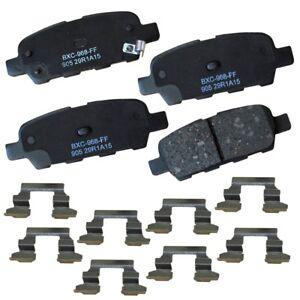Disc Brake Pad Set-Stop Ceramic Brake Pad Rear Bendix SBC905