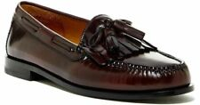Cole Haan Mens Pinch Shawl Bow II Leather Slip On Loafer Shoes Burgundy Sz 8 NIB