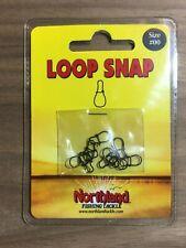 Northland Fishing Tackle - Loop Snap - Size #00 - Black Nickel