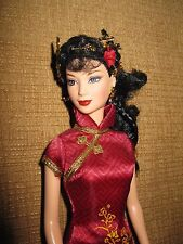 "Festival of the World ""Chinese New Year"" Collectible Barbie Doll China dress"