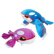 Set of 2 Pokemon Kyogre Blue and Pink Figure Plush Doll Stuffed Animal Soft Toy