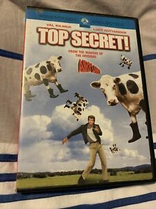 Top Secret (DVD, 1984) (Region 1) Free Post - From Smoke And Pet Free Home