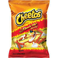 Cheetos Cheese Snacks, Crunchy, Flaming Hot, 2.0 Ounce (Pack of 64)