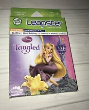 NEW Leapster Leap Frog 1 2 Disney Tangled Game Kids Educational