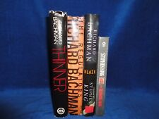 4 STEPHEN KING / RICHARD BACHMAN HARD COVER NOVELS