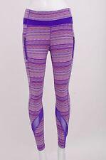 LULULEMON Purple Pink Inspire Space Dye Twist Iris Flower Wunder Under Legging 4