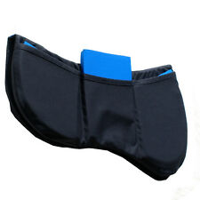 Prolite Tri-pad Thin Adjustable Saddle Pad,One Size,Black,Brand New