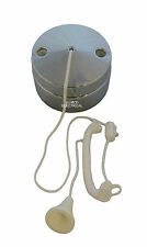 Chrome Effect Ceiling Pull Switch (for Lighting Circuits) 6 amp 1 or 2 Way