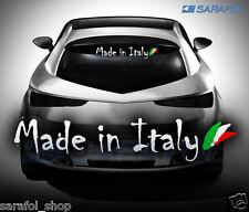 MADE in Italy autocollant 30x6 cm Italie car voiture sticker Adesivo Italia Italian
