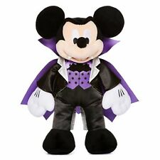 Mickey Mouse Vampire Costume Plush Collection Purple Black Stuffed Rare HTF