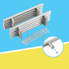 20x Set Möbelgriffe Stangengriffe Küchengriffe Türgriffe Relinggriffe 20cm SUPER