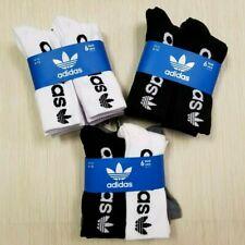 Adidas Originals Men's Crew Socks Size 6-12 New Euro Model 1 , 2, OR 3 Pairs