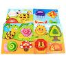 KQ_ Children DIY Stereo Puzzles Kids Toddler Preschool Learning Education Toys E