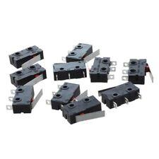 10 Pcs AC SPDT 1NO 1NC Short Straight Hinge Lever Mini Micro Switch B6J6