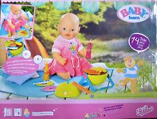 ~Baby Born Kleidung~  Grillspaß - Play & Fun Grillset - NEU