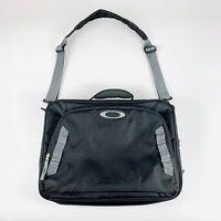 Oakley Messenger Shoulder Strap Bag Laptop Computer Sleeve Case Black