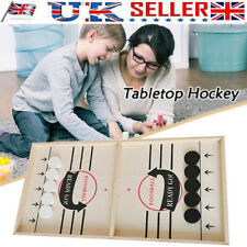 2020 NEW Wooden Hockey Game Tabletop Game Family Fun Game for Kids Children Gift