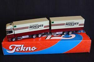 "Tekno Scania R-serie 380 Topsleeper truck with trailer ""Moeijes"" 1:50 (J&KvW)"