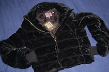 Juicy Couture Evening Puffer Jacket Black (Size S) NEW BNWT JG005181
