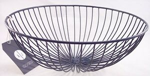 NWT Alice Jane AJ Goods Charcoal Gray Nest Wire Bowl, PopSugar Must Have, $35
