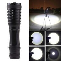 3000LM  XM-L T6 LED Zoomable Flashlight 18650 Torch Lamp Light GA