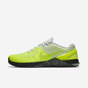 Men's Nike Metcon DSX Flyknit Sz 14 Volt/Ghost Green 852930-701 FREE SHIPPING