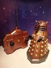 "Doctor Who Gold Dalek Infra Red Battle Version Talking Radio Control 5"" Figure"