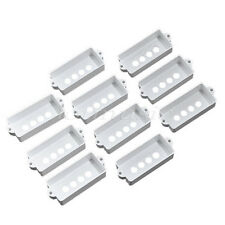 10pcs White pickup Cover for Fender Precision P Bass Guitar Pickups