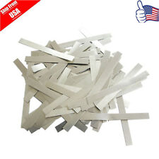 100pcs 7.5cm Solder Tab For Sub C Cell 14500 18650 AA AAA Battery Cell USA Stock
