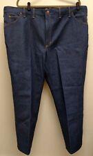 Vtg NOS 80's Men's JC Penney's Big Mac Stiff Dark-wash Jeans Sz 46x29
