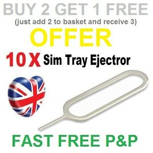 Sim Card Ejector Removal Tool Eject Pin Key for Iphone 3 4 5 5S 6 6S PLUS iPad
