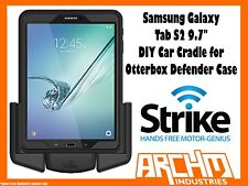 "STRIKE ALPHA SAMSUNG GALAXY TAB S2 9.7"" CAR CRADLE OTTERBOX DEFENDER CASE DIY"