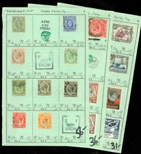 EDW1949SELL : KENYA U & T Nice collection of all Diff. VF, Mint & Used. Cat