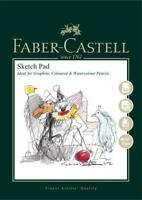 #792614 Faber Castell A3 Sketch Pad 160gsm 40 Pages Sheets Drawing Art Artist