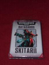 Warhammer 40K Datacards: Skitarii (2015) Factory Sealed / New miniatures wargame