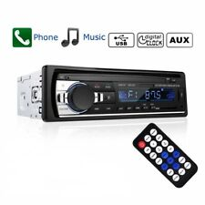 Bluetooth Car Stereo Audio 1DIN FM Aux Input Receiver SD USB MP3 Radio Player
