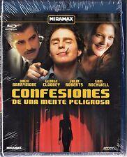 CONFESIONES DE UNA MENTE PELIGROSA Clooney BLU-RAY Tarifa plana envío España 5 €