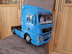 Neu Tamiya MAN TGX 18.540 Blue Edition RC LKW Truck