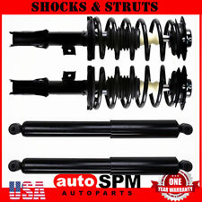 for 2007 2008 2009 chevy equinox 2x front struts spring assembly 2x rear  shocks