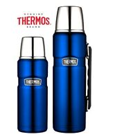 Thermos Stainless King Flask Vacuum Insulated 470ml/1.2L Metallic Blue