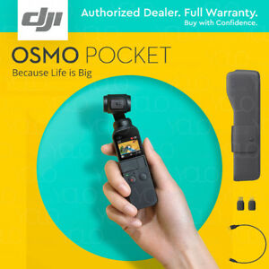 DJI Osmo Pocket Gimbal Handheld 3 Axis Stabilizer.