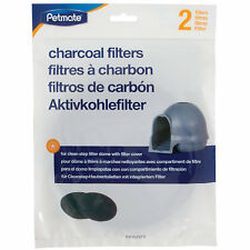 Booda litter box charcoal filters for booda Dome 2pk