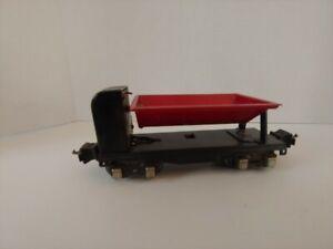 Lionel 3659 Automatic Dump Car Red 1941 Prewar O Gauge